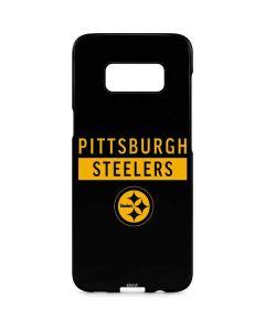 Pittsburgh Steelers Black Performance Series Galaxy S8 Plus Lite Case
