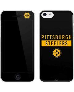 Pittsburgh Steelers Black Performance Series iPhone 5c Skin