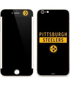Pittsburgh Steelers Black Performance Series iPhone 6/6s Plus Skin