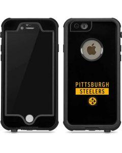 Pittsburgh Steelers Black Performance Series iPhone 6/6s Waterproof Case