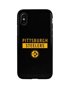 Pittsburgh Steelers Black Performance Series iPhone XS Max Pro Case