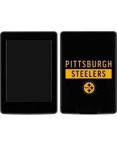 Pittsburgh Steelers Black Performance Series Amazon Kindle Skin
