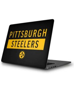 Pittsburgh Steelers Black Performance Series Apple MacBook Pro Skin