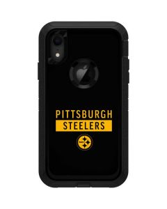 Pittsburgh Steelers Black Performance Series Otterbox Defender iPhone Skin