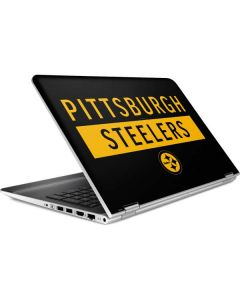 Pittsburgh Steelers Black Performance Series HP Pavilion Skin