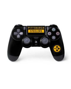 Pittsburgh Steelers Black Performance Series PS4 Controller Skin