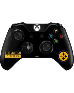 Pittsburgh Steelers Black Performance Series Xbox One Controller Skin