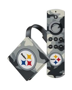 Pittsburgh Steelers Camo Amazon Fire TV Skin