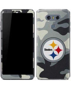 Pittsburgh Steelers Camo LG G6 Skin