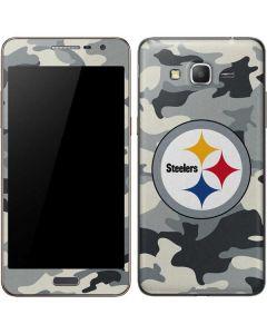 Pittsburgh Steelers Camo Galaxy Grand Prime Skin