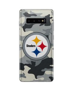 Pittsburgh Steelers Camo Galaxy S10 Plus Skin