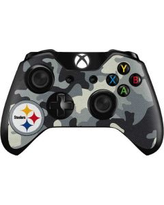Pittsburgh Steelers Camo Xbox One Controller Skin