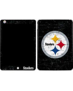 Pittsburgh Steelers Distressed Apple iPad Skin