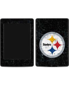 Pittsburgh Steelers Distressed Amazon Kindle Skin
