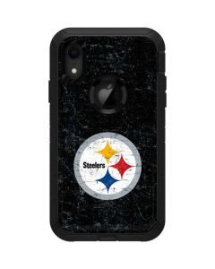 Pittsburgh Steelers Distressed Otterbox Defender iPhone Skin