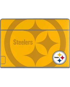 Pittsburgh Steelers Double Vision Galaxy Book Keyboard Folio 12in Skin