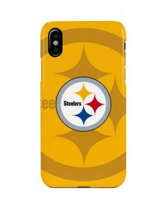 Pittsburgh Steelers Double Vision iPhone XS Max Lite Case