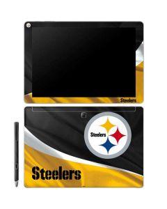 Pittsburgh Steelers Galaxy Book 12in Skin