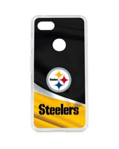 Pittsburgh Steelers Google Pixel 3 XL Clear Case