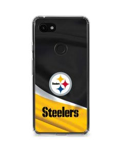 Pittsburgh Steelers Google Pixel 3a XL Clear Case