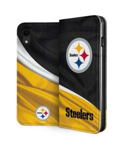 Pittsburgh Steelers iPhone XR Folio Case