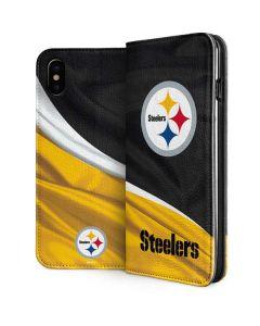 Pittsburgh Steelers iPhone XS Folio Case