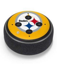 Pittsburgh Steelers Large Logo Amazon Echo Dot Skin