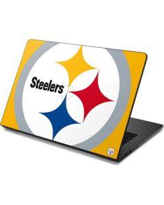 Pittsburgh Steelers Large Logo Dell Chromebook Skin
