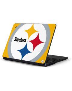 Pittsburgh Steelers Large Logo Samsung Chromebook Skin