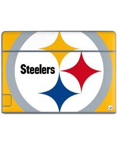 Pittsburgh Steelers Large Logo Galaxy Book Keyboard Folio 10.6in Skin