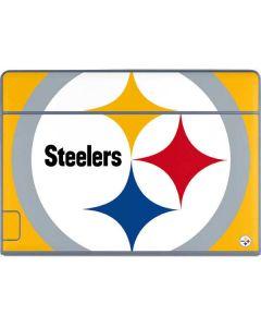 Pittsburgh Steelers Large Logo Galaxy Book Keyboard Folio 12in Skin