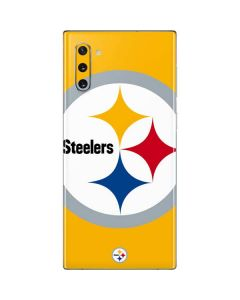 Pittsburgh Steelers Large Logo Galaxy Note 10 Skin