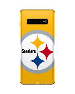 Pittsburgh Steelers Large Logo Galaxy S10 Plus Skin