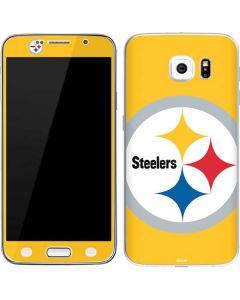 Pittsburgh Steelers Large Logo Galaxy S6 Skin