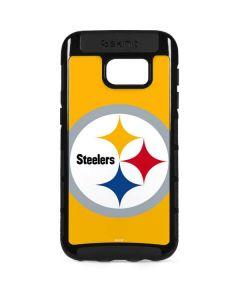 Pittsburgh Steelers Large Logo Galaxy S7 Edge Cargo Case