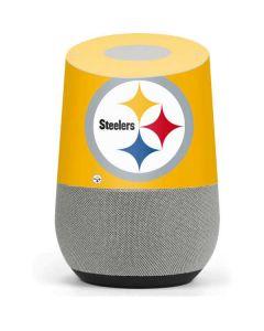 Pittsburgh Steelers Large Logo Google Home Skin