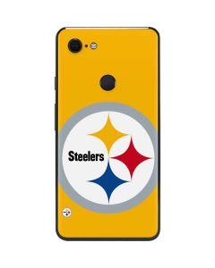 Pittsburgh Steelers Large Logo Google Pixel 3 XL Skin