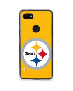 Pittsburgh Steelers Large Logo Google Pixel 3a Clear Case