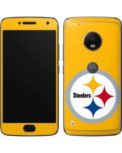 Pittsburgh Steelers Large Logo Moto G5 Plus Skin