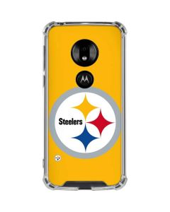 Pittsburgh Steelers Large Logo Moto G7 Play Clear Case