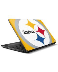 Pittsburgh Steelers Large Logo HP Notebook Skin