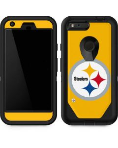 Pittsburgh Steelers Large Logo Otterbox Defender Pixel Skin