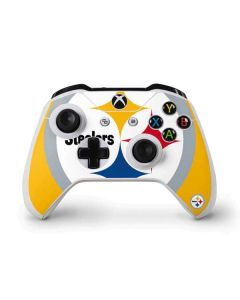 Pittsburgh Steelers Large Logo Xbox One S Controller Skin