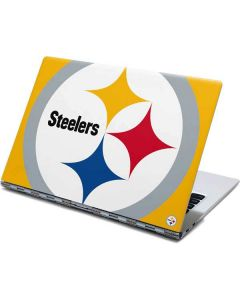 Pittsburgh Steelers Large Logo Yoga 910 2-in-1 14in Touch-Screen Skin