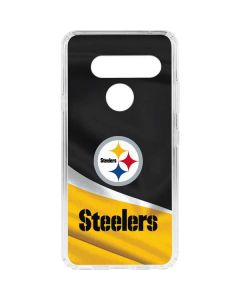 Pittsburgh Steelers LG V40 ThinQ Clear Case