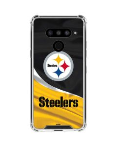Pittsburgh Steelers LG V50 ThinQ Clear Case