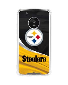 Pittsburgh Steelers Moto G5 Plus Clear Case