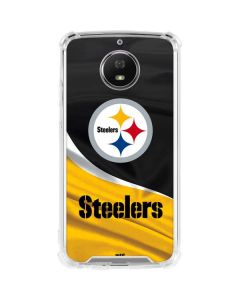 Pittsburgh Steelers Moto G5S Plus Clear Case