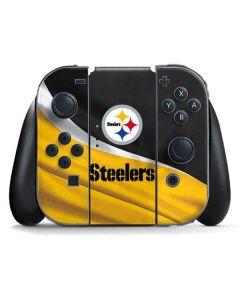 Pittsburgh Steelers Nintendo Switch Joy Con Controller Skin