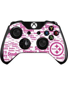 Pittsburgh Steelers Pink Blast Xbox One Controller Skin